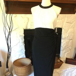 NWT LAUREN RALPH LAUREN BLACK & WHITE DRESS